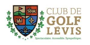 Parmi les fiers partenaires de b2golf : le club de golf Lévis