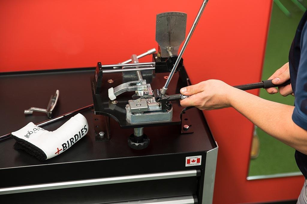 Service de custom fitting chez b2golf à Lévis et Québec